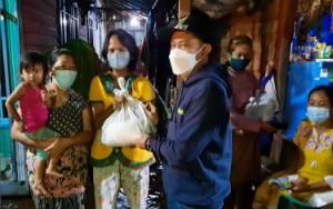Pemko Palangka Raya Rutin Salurkan Bantuan Untuk Korban Banjir