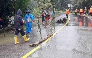 Hujan Lebat Guyur Barito Timur, Warga Diminta Waspada