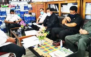 Bapemperda DPRD Kapuas Lakukan Koordinasi Terkait Perda Protokol Kesehatan