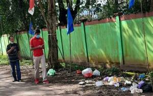 Baru Dibersihkan, Ada Lagi yang Buang Sampah di Kawasan Beriman