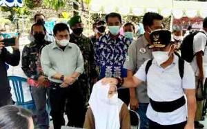 Vaksinasi Massal di Barito Utara Diikuti 400 Pelajar dari Seluruh Kecamatan
