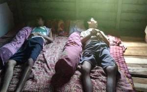 Rumah Anak Kembar Penderita Stroke Kebanjiran