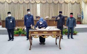 Pemkab dan DPRD Barito Utara Sepakati Rancangan Perubahan KUA PPAS APBD 2021