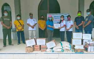 GKE Karusen Janang Salurkan Bahan Makanan untuk Warga Terdampak Banjir