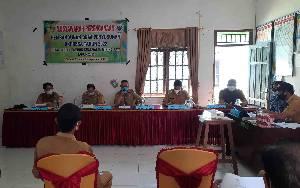 Dinas PMD Kabupaten Gunung Mas Fasilitasi Musrenbangdes Dahian Tambuk