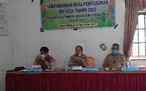 Musrenbangdes di Kecamatan Mihing Raya Ditargetkan Rampung pada September