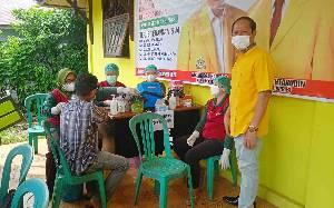 Partai Golkar Barito Timur Gelar Vaksinasi Massal