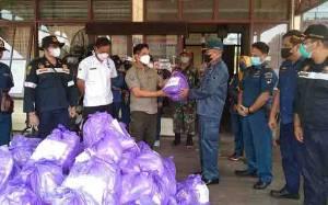 Bantuan untuk Warga Terdampak Banjir di Katingan Terus Mengalir