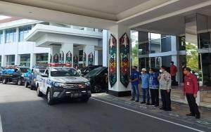 Wakil Gubernur Kalteng Lepas Penyaluran Bantuan Banjir Melalui Balakarcana 651 Kapuas