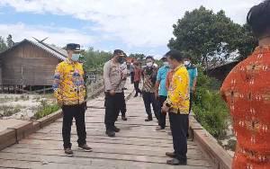 Jembatan Sei Rawi II Sudah Fungsional, Ini Pesan Bupati Gunung Mas