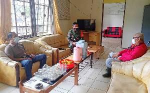 Kalaksa BPBD dan Pabung Kodim Pantau Titik Panas di Kecamatan Awang
