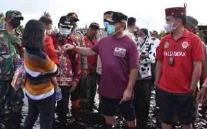 Gubernur Kalteng Kembali Tegaskan Jangan Tunda Penyaluran Bantuan Banjir