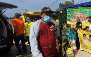 Kades Minta Jalan Kumpai Batu Bawah Langganan Banjir Ditinggikan