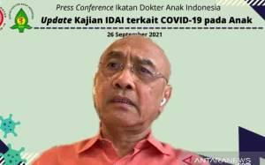 IDAI: Kasus Anak Terkonfirmasi Covid-19 Terbanyak di Jawa Barat