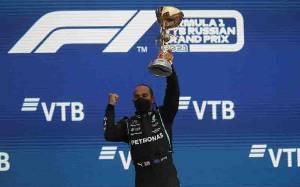 Juarai GP Rusia, Hamilton Klaim Kemenangan ke-100 di F1
