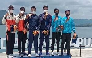 Atlet Dayung Sumbang Medali Pertama Kontingen Kalteng