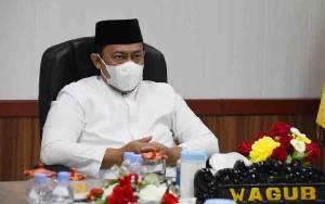Wakil Gubernur Kalteng Hadiri Dzikir Bersama Secara Virtual