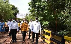 Jembatan Jamutan Desa Tamiang Diperbaiki Swakelola dengan Dana Hasil Kebun