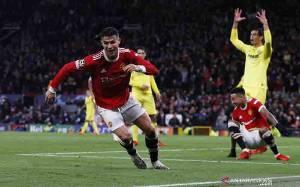 Gol Larut Ronaldo Beri MU Kemenangan Dramatis 2-1 Atas Villarreal
