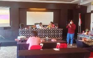 Workshop BNN Kota Palangka Raya Penguatan Kapasitas Insan Media