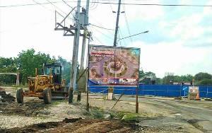 Pemkab Barito Timur Minta PLN Pindahkan Gardu Listrik di Lokasi Tugu Bundaran Longkang