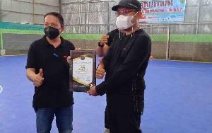Wabup Barito Timur Buka Turnamen Futsal PWI DAS Barito