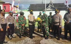 Kapolres Seruyan Beri Kejutan HUT TNI