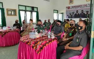 Kodim Lamandau Ikuti Peringatan HUT ke 76 TNI secara Virtual