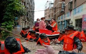 Longsor Landa Shaanxi China, Tiga Warga Tewas