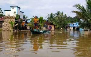 Banjir di Kotim Makin Mengkhawatirkan