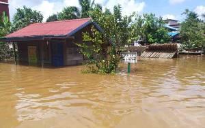 Wilayah Kecamatan Sanaman Mantikei Kembali Dilanda Banjir