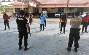 Anggota Pramuka Saka Bhayangkara Ikuti Pelatihan di Polres Kapuas