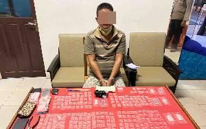 Polda Kalteng Tangkap Residivis Narkoba di Kotim