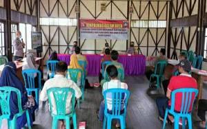 Satbinmas Polres Kapuas Lakukan Penyuluhan Kamtibmas di Desa Pulau Telo Lama