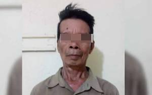 Lansia Ini Harus Meringkuk di Tahanan karena Menganiaya dengan Badik
