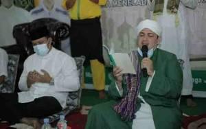 Bupati Hendra Lesmana Ajak Jemaah Maulid Nabi Doakan Wabup Sembuh dari Covid-19