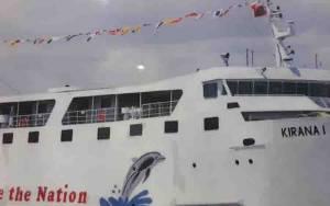 Seorang Penumpang Kapal KM Kirana 1 Rute Kumai - Semarang Melompat di Tengah Pelayaran