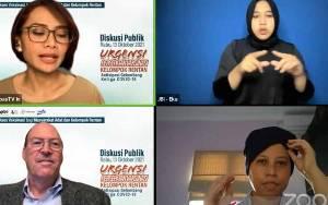 Survey: 40 Persen Lansia Indonesia Tak Mau Divaksin