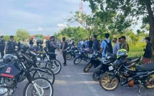 Polisi Kembali Amankan Puluhan Remaja Terlibat Balapan Liar di Palangka Raya