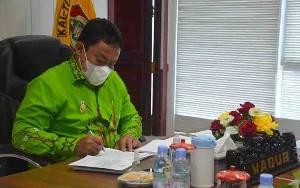 Wagub Kalteng: Pelaksanaan Pembangunan Harus Berpedoman RPJM 2021-2026
