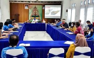 Dislutkan Kalteng Gelar Rapat Pengembangan Perekonomian Kalteng