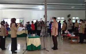 Hendra Lesmana Dilantik Jadi Ketua Mabicab Gerakan Pramuka Lamandau