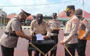 Kapolres Seruyan Pimpin Upacara Serah Terima Jabatan