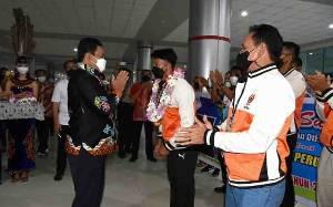 Wagub Kalteng Apresiasi Atlet Peraih Medali di PON XX Papua