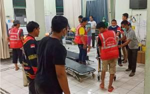 Kondisi Kritis, Korban Kecelakaan di Desa Matabu Dirujuk ke RSUD Amuntai
