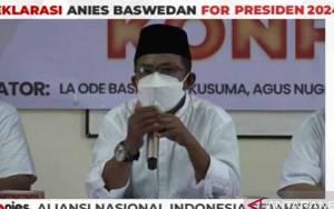 Relawan Deklarasikan Anies sebagai Capres 2024