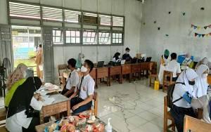 Kecamatan Bataguh Terus Optimalkan Pelaksanaan Vaksinasi Covid-19