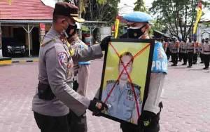 Terlibat Kasus Narkoba, Oknum Polisi di Kobar Diberhentikan Tidak Hormat