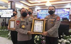 Polres Kapuas Terima Penghargaan dari Kapolda Kalteng, Karena Ini