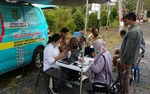 Mobil Pelayanan Keliling DPMPTSP Kapuas Jemput Bola Sasar Kecamatan